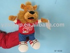 stuffed plush toy lion hand puppet