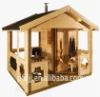 PFDODTS001 enviromental friendly outdoor sauna house