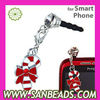 Wholesale Headphone Jack Stopper Charms for Cell phone