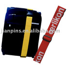 High Quality Woven Luggage Belt with Custom Logo on