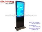 """42"""" LCD floor stand advertising player"""