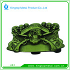 Fashion Accessories Belt Buckles Metal with skeleton Head for Men