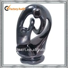 black marble abstract sculpture of mother and child YL-C114