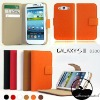 Wallet case for samsung galaxy s3 ,for samsung galaxy s3 case,cute case for samsung galaxy s3