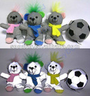 Plushed Reflective Safety Teddy Bear Soft Toy