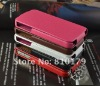 Brand new Genuine flip leather case bag skin cover leather pouch case for iphone 4g 4s