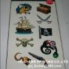 Pirate Tattoo Sticker