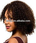 14 inch afro kinky curly lace front wig for black women