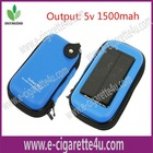 Latest green smoke e-cigarette PCC, Solar charger, 1500mah Battery
