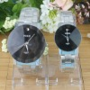 2012 valentine jewelry new design wholesale NO MOQ lovers Stainless Steel watch