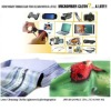 Customized printing microfiber cleaning cloth