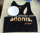 2012 hot seamless sports yoga bra with removable pads