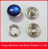 Pearl snap button for shirt