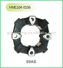 Excavator rubber part coupling 50A
