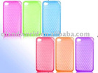 Hot TPU Silicon Cellphone Cases for Fruit phone 4