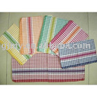 100% cotton yarn dyed terry kitchen towel