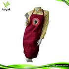 Custom lead plastic cooking apron for adult