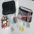 high quality black color household sewing kits(No13327)