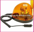 Amber Magnetic Base 12v Revolving Warning Emergency Safety Light All-weather