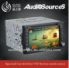 6.2 universal 2 din Audio car gps navigation system with3G/DVBT/TMC/Iphone/Ipod/RDS