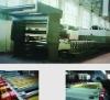 Rotary screen carpet printing machine