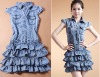 2012 Ladies Fashionable Hot Style Denim Dress
