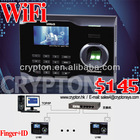 Biometric Fingerprint Reader with WiFi Time Attendance