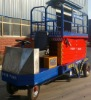 2012 China CE certificate ISO9001:2008 aerial angle working platforms trailer wheel lift