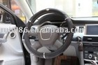 [Competitive price] Cars accessories:Leather & PU& Wood Steering Wheel Cover 1232