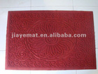 PVC Embossing door,floor and entrance COIR Mats
