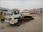 dongfeng tow truck, wrecker truck-one with two flat wrecker truck