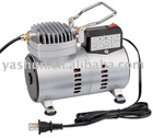 1/8HP Oilless Airbrush Compressor Kit