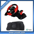 racing car steering wheel for game