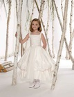 New Design Short Sleeve Lovely Designer Ball Gown Flower Girls Dresses Patterns FD-118