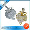 Popular custom metal jewelry usb flash drive