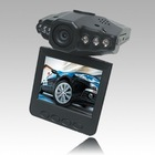 car black box with built-in lithium battery/car charger