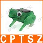 Solar capering frog,plastic frogs,garden solar light frog