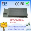 rechargerable high quality notebook battery 11.1V 5200mah For Dell Latitude D620 Series