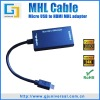 MHL micro usb to hdmi cable MHL cable 1080p for galaxy s2