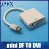 Best Selling mini DP to DVI Converter