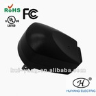 power supply with black Color Egg-shape GS,CE,RoHS Approval