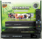 Openbox S4 HD PVR linux system ,Sti7110 chip,HD satellite receiver 3G ,IPTV Youtobe