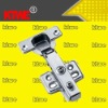 Nickel plating straight four drill holes hydraulic hinge for cabinet/window door