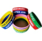 Printed Silicone Wristband bracelet with customize logo print