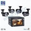 CCTV 4 CH DVR Camera Kit