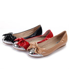 girls fashion lovely falts.patent leather party shoes online