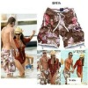 Designer men comfortable summer beachwear pants