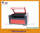 China Jinan 80W CO2 the laser cutting for the nonmetal material with 900 times 600mm working area