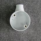 PVC 1 way circular box