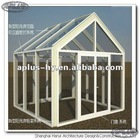 Glass awning canopy